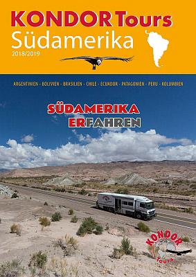 Reiseveranstalter - KONDOR Tours: Südamerika 2018/2019