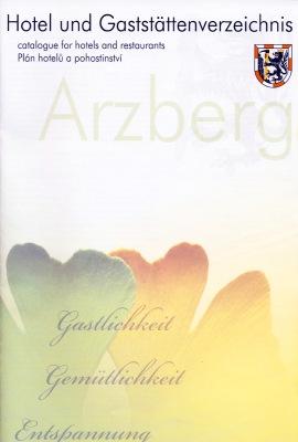 Fichtelgebirge - Arzberg - Hotel- und Gaststättenverzeichnis