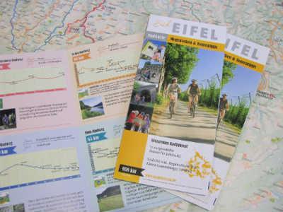 Ferienregion Eifel - Südeifel Radkarte