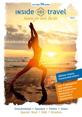 Reiseveranstalter - INSIDE TRAVEL Katalog 2016