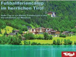 Reiseveranstalter - proSport - Fußballferiencamp in Tirol (pdf)