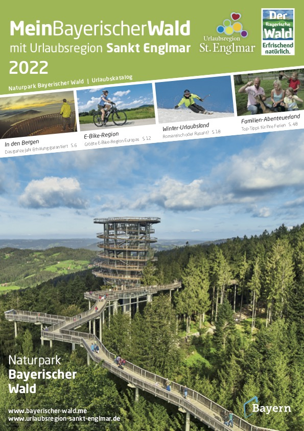 Niederbayern - Urlaubsregion St. Englmar und das Urlaubsland Straubing-Bogen