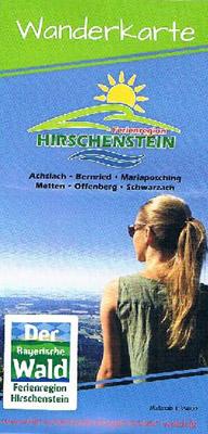 Bayerischer Wald - Wandern in der Ferienregion Hirschenstein (Wanderkarte)