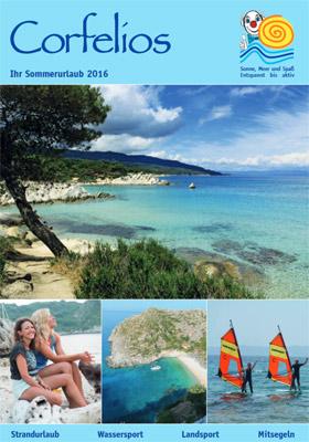 Reiseveranstalter - Corfelios - Ihr Sommerurlaub 2016 (pdf)