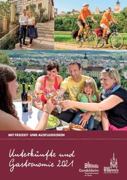 Neckartal - Unterkünfte & Gastronomie 2018 – Bad Wimpfen & Gundelsheim