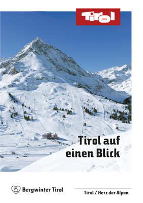 Tirol - Winterfaltkarte