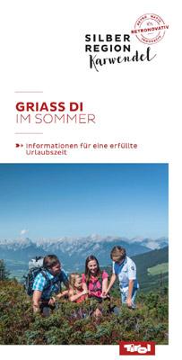Silberregion Karwendel - SOMMERBOOKLET SILBERREGION KARWENDEL