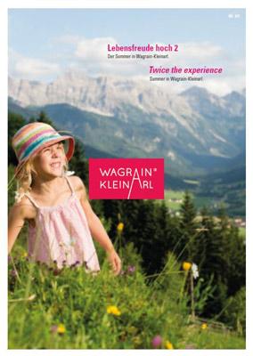 Wagrain - Imagebroschüre Sommer hoch 2 in Wagrain-Kleinarl-Kleinarl