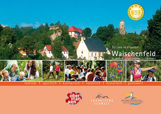 Fränkische Schweiz - Gastgeberverzeichnis Waischenfeld-Fränkische Schweiz