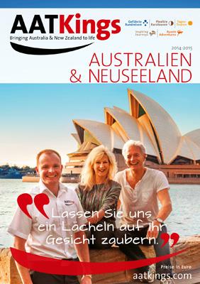 Reiseveranstalter - Australien & Neuseeland  – Traumreisen unter dem Kreuz des Südens!