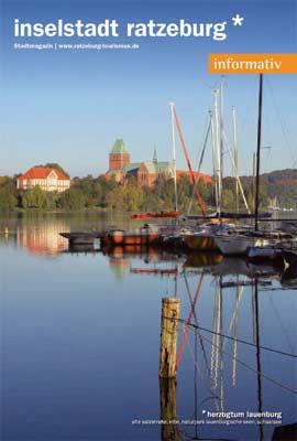 Naturpark Lauenburgische Seen - Ratzeburg: Stadtbroschüre informativ