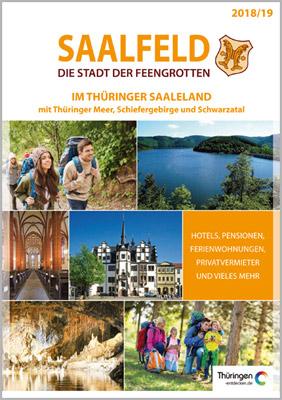 Thüringen - Reiseplaner Rennsteig-Saaleland 2016/17