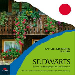 Schwarzwald - Südwärts-Schwarzwaldvergnügen im Dreiländereck (Gastgeberverzeichnis)