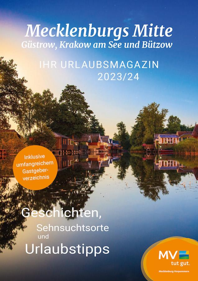 Mecklenburgische Seenplatte - Barlachstadt Güstrow – Urlaubsland zwischen Ostsee und Seenplatte