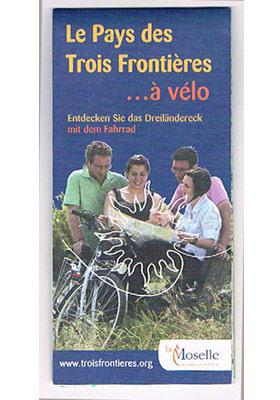 Mosel - Fahrradkarte-französisches Dreiländereck