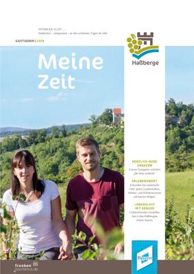 """Naturpark Haßberge - Ferienkatalog """"Meine Zeit"""""""