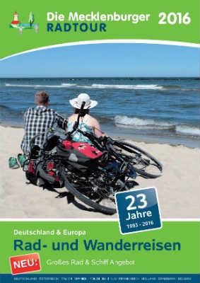 Reiseveranstalter - Die Mecklenburger Radtour - Rad- und Wanderreisen 2016