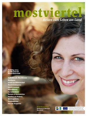 """Mostviertel -  Magazin """"Mostviertel – Reisen zum Leben am Land"""""""