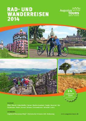 Reiseveranstalter - Augustus Tours -  Rad- und Wanderreisen 2014