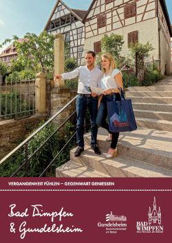 Neckartal - Bad Wimpfen & Gundelsheim Katalog
