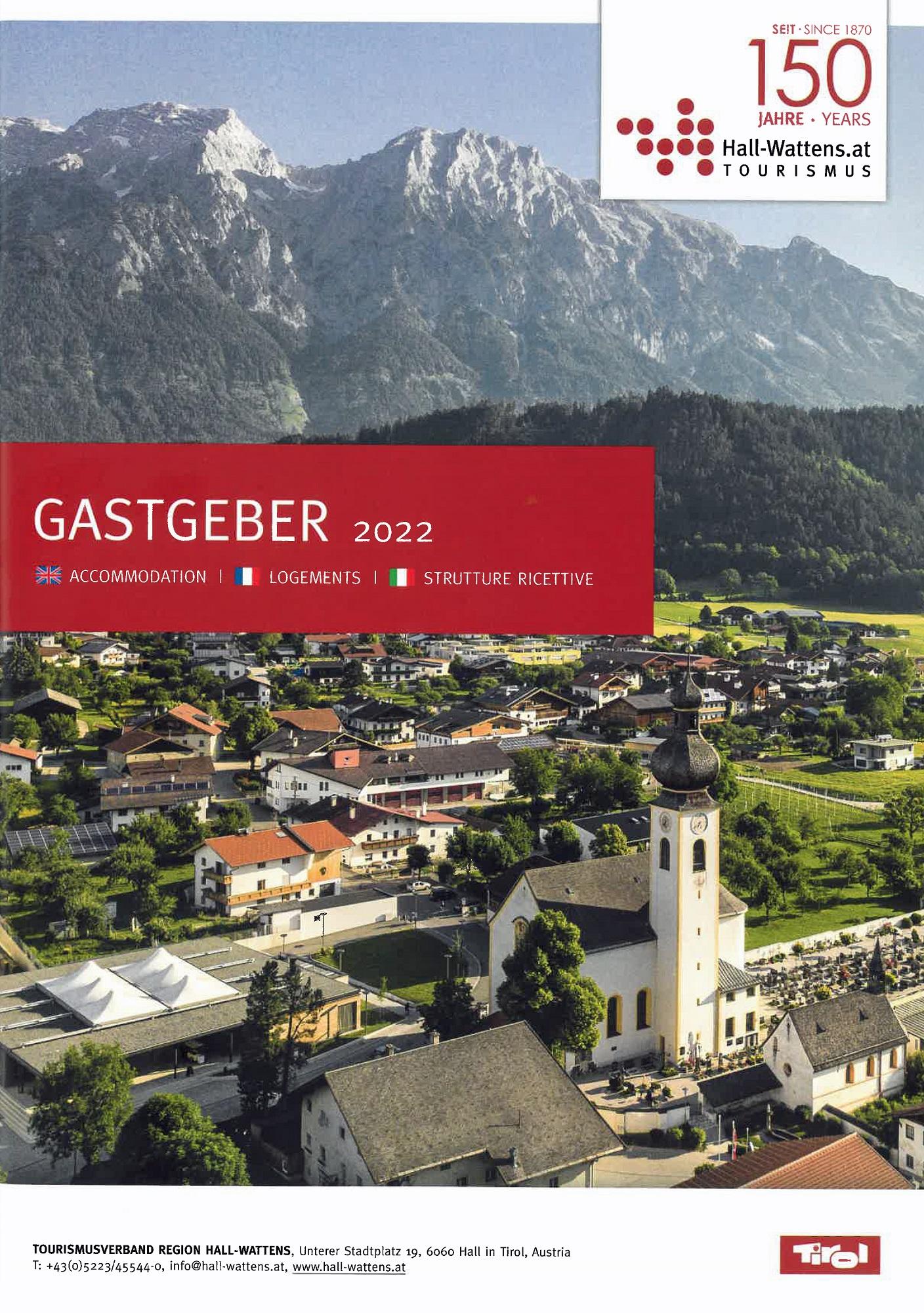 Region Hall-Wattens - Region Hall-Wattens - Unterkunftsverzeichnis Tirol