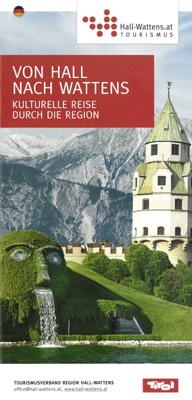 """Region Hall-Wattens - """"Von Hall nach Wattens""""-Kulturführer"""