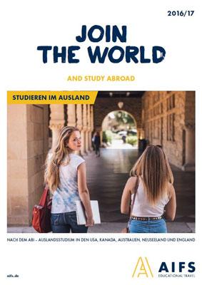 Reiseveranstalter - AIFS - Studieren im Ausland – Off to College
