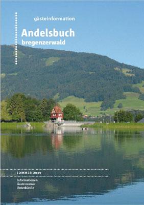 Bregenzerwald - Gästeinformation Andelsbuch Sommer 2016