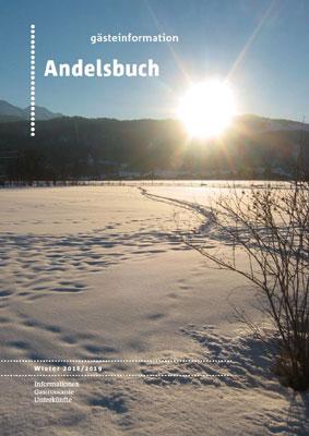 Bregenzerwald - Gästeinformation Andelsbuch Winter 2015-16 (pdf)