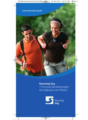 Naturregion Sieg - Pocketguide Natursteig Sieg
