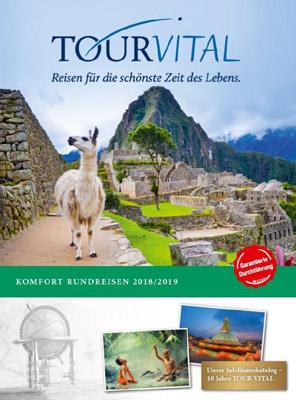 Reiseveranstalter - TOUR VITAL Rundreisen & Erlebnistouren: Garantierte Durchführung ab 2 Pers.
