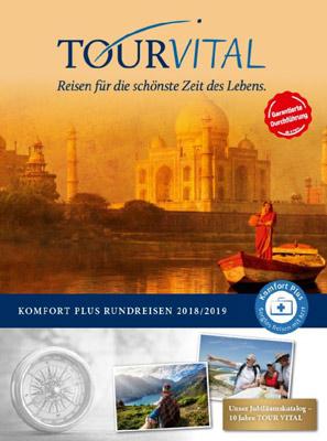 Reiseveranstalter - TOUR VITAL Reisewelten: Rundreisen mit ärztlicher Begleitung zu weltweiten Zielen, Kreuzfahrten & Wellnessreisen