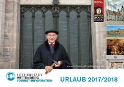 Sachsen-Anhalt - Lutherstadt Wittenberg Urlaub 2017 (pdf)