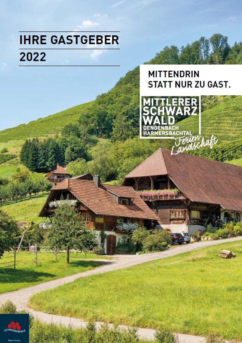 Schwarzwald - Gastgeberverzeichnis Mittlerer Schwarzwald – Gengenbach, Harmersbachtal