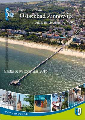 Usedom - Ostseebad-Zinnowitz - Gastgeberverzeichnis