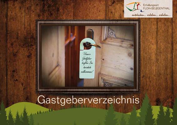 Thüringer Wald - Floh-Seligenthal: Gastgeberverzeichnis (pdf)