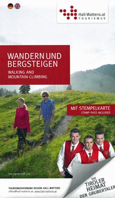 Region Hall-Wattens - Sommerwanderkarte Tirol