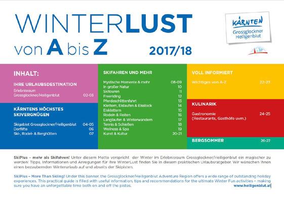 Hohe Tauern - Winterlust von A-Z (PDF)