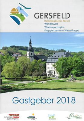 Rhön - Gersfeld Gastgeberverzeichnis