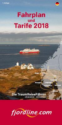 Reiseveranstalter - Fjord Line: Fahrplan und Tarife 2017 (pdf)