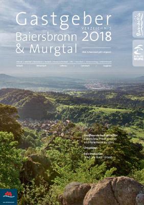 Schwarzwald - Gastgeberverzeichnis Murgtal 2016/17