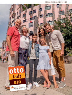 """Sachsen-Anhalt - Magdeburg Arrangements 2018 """"Otto lädt ein"""""""