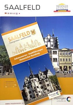 Thüringen - Reiseplaner Rennsteig-Saaleland 2018/19