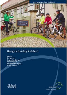 Sachsen - Radebeul - Gastgeberkatalog