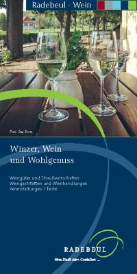 Sachsen - Radebeul - Winzer, Wein und Wohlgenuss (pdf)