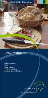 Sachsen - Radebeul - Restaurantführer (pdf)