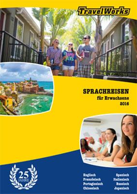Reiseveranstalter - Sprachreisen (ab 16 Jahren) mit TravelWorks