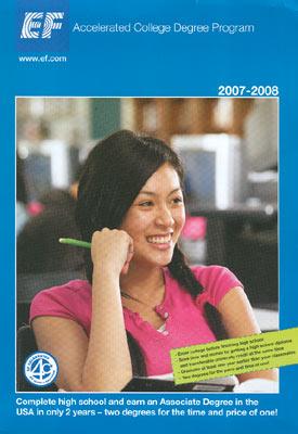 Reiseveranstalter - EF Sprachreisen - Accelerated College Degree Program