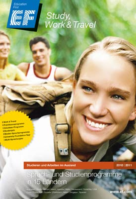 Reiseveranstalter - EF Sprachreisen - Study, Work & Travel