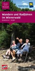 Rad- und Wanderkarte Wienerwald